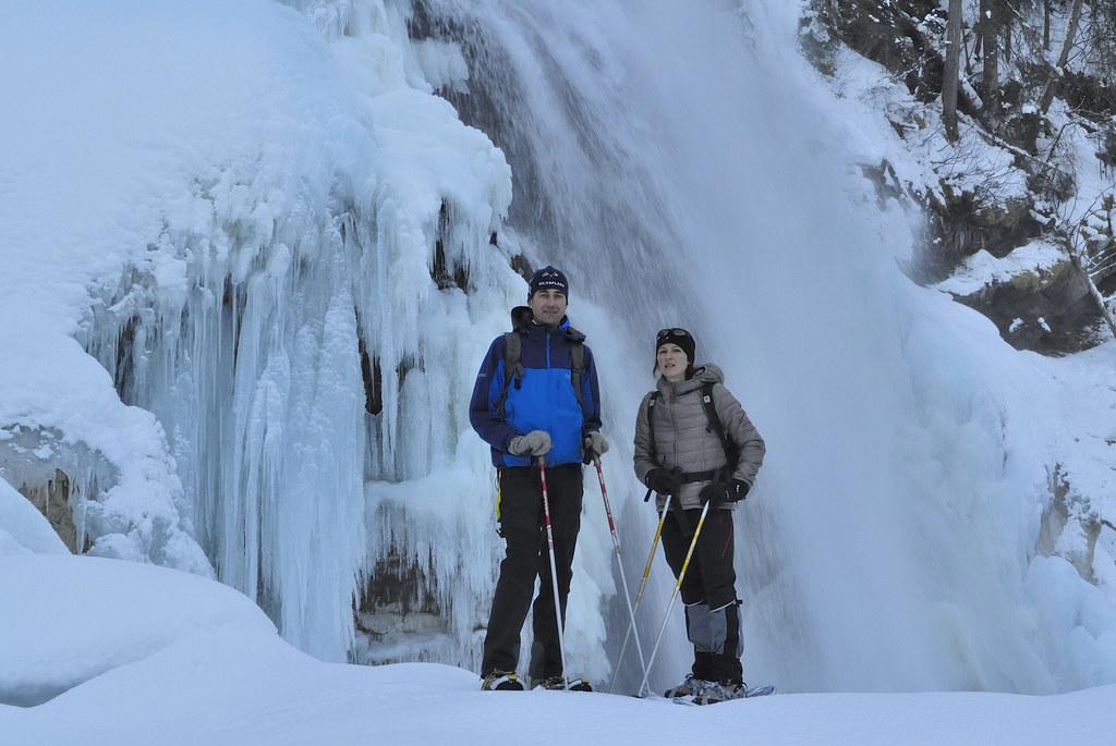 Winterwanderung in der Krimmler  Achental