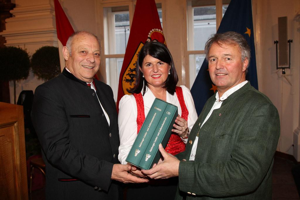 Südtirols Landeshauptmann Dr. Luis Durnwalder, Landeshauptfrau Mag. Gabi Burgsta..