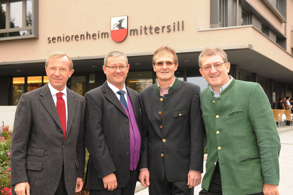 Landeshauptmann-Stellvertreter Dr. Wilfried Haslauer, Bürgermeister Dr. Wolfgang..