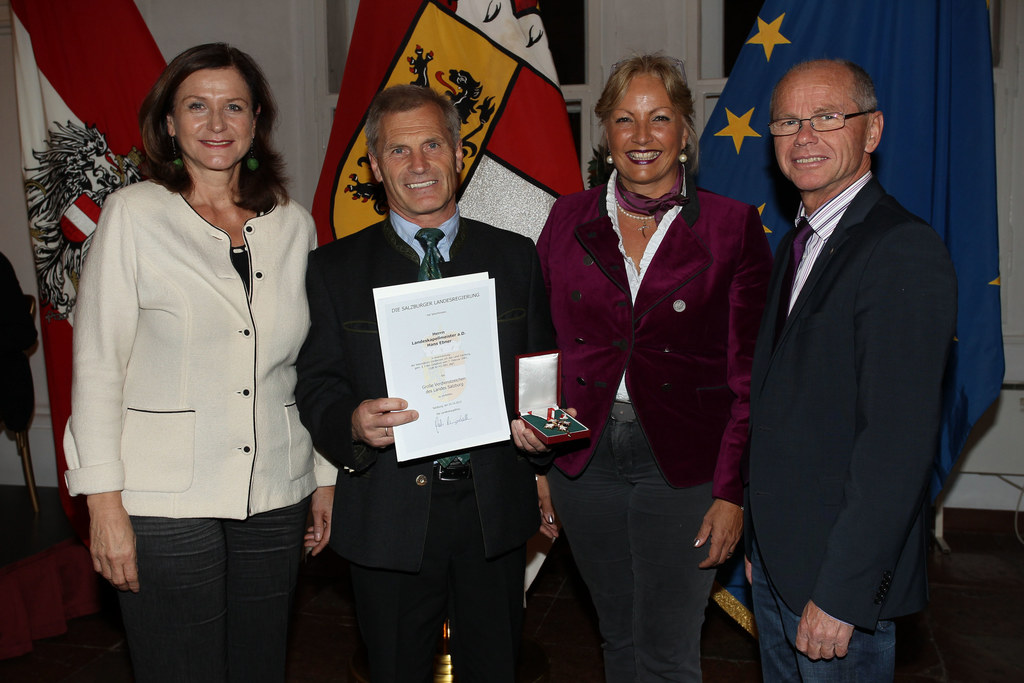 2. LTP Gudrun Mosler-Törnström, Landeskapellmeister a.D. Hans Ebner, LR Dr. Tina..
