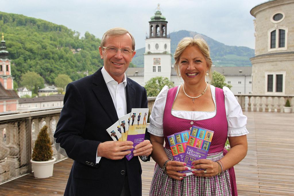 LH-Stv. Wilfried Haslauer und LR Tina Widmann
