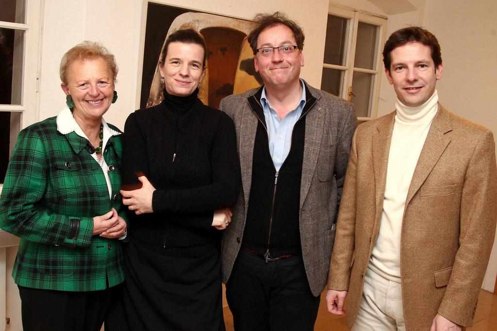 v.l: Monika Kalista, Julia Lepka, Robert Pienz und LH-Stv. David Brenner