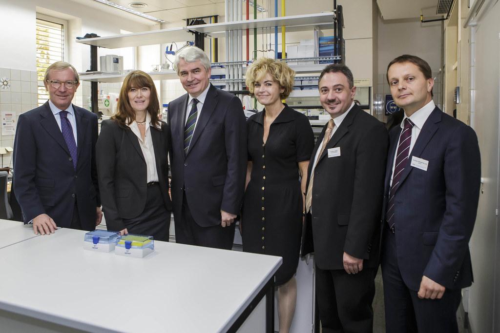 Landeshauptmann Dr. Wilfried Haslauer, Kornelia Weidemann, Univ. Prof. Dr. Heinr..