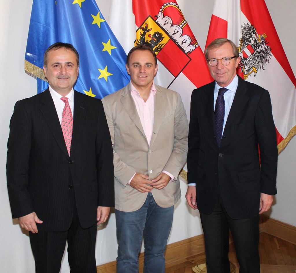 S.E. Gordan Bakota, Botschafter der Republik Kroatien, Ing. Hubert Palfinger und..