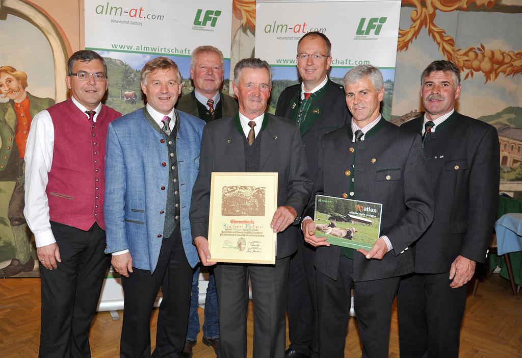 Landesrat DI Dr Josef Schwaiger, Landwirtschaftskammerpräsident NR Franz Essl, V..