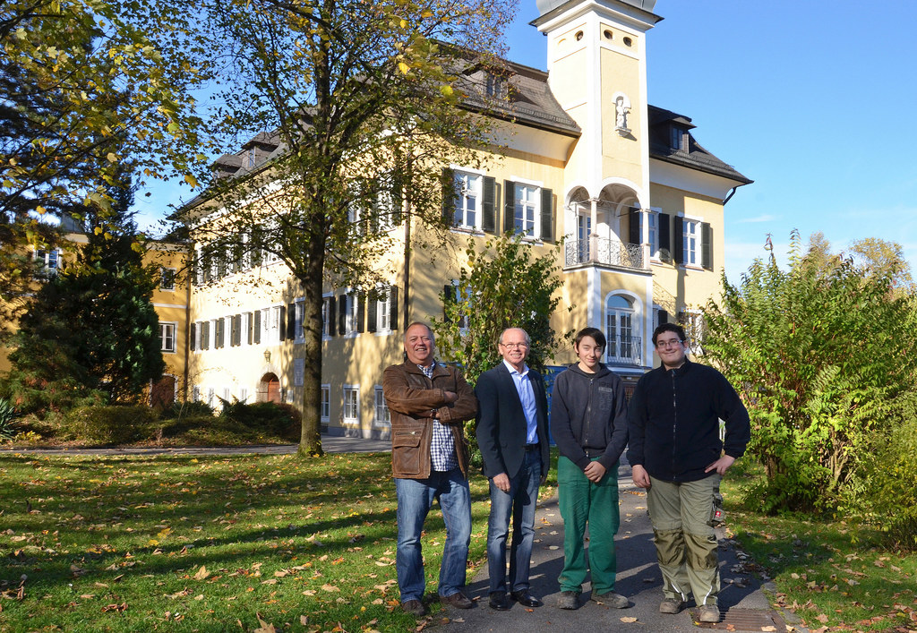 SD Stefan Fraundorfer, LHStv. Dr. Christian Stöckl, Josef Fortner und Markus Sta..