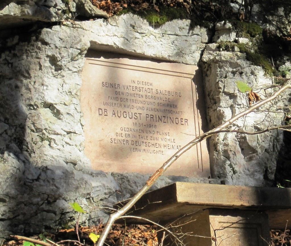 August Prinzinger-Gedenkstätte auf dem Gaisberg