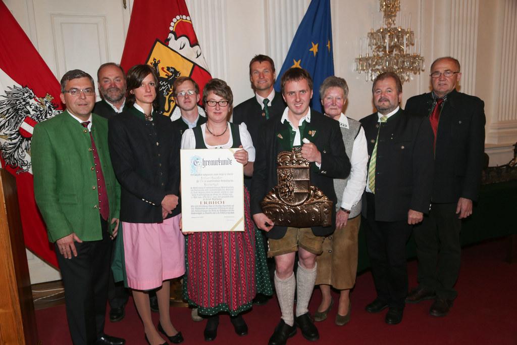 Erbhofurkund an die Familie Knöpfler aus Mühlbach am Hochkönig