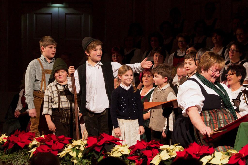 Hirtenkinder beim Salzburger Adventsingen