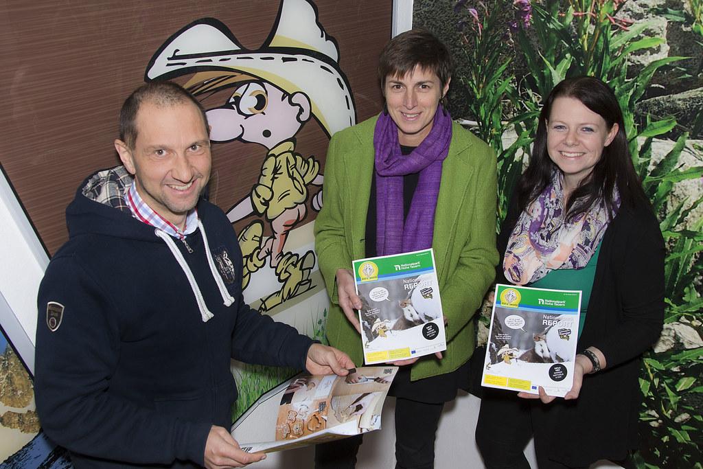 Nationalpark-Direktor Dipl.-Ing. Wolfgang Urban, LHStv. Dr. Astrid Rössler und P..