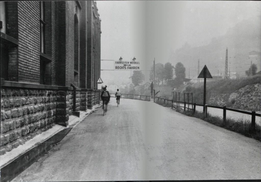 In Lend befand sich in den 1930er-Jahren die Grenze zwischen Links- und Rechtsve..