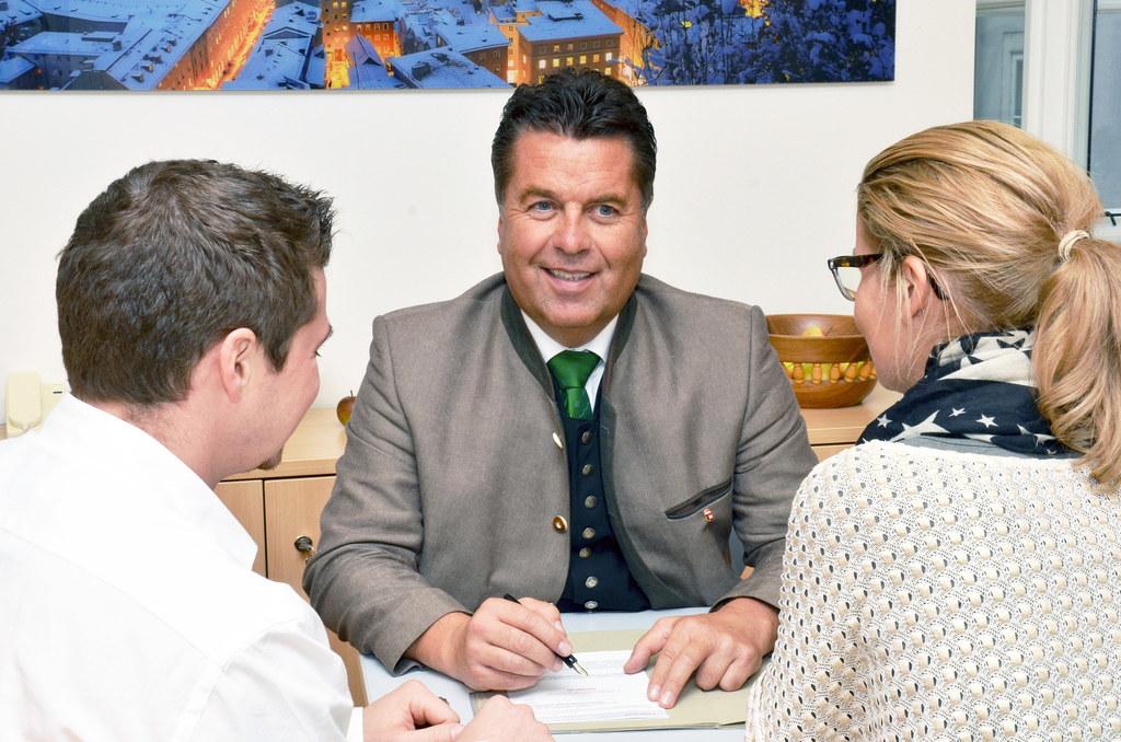 Diskussionsveranstaltungen mit Landesrat Hans Mayr