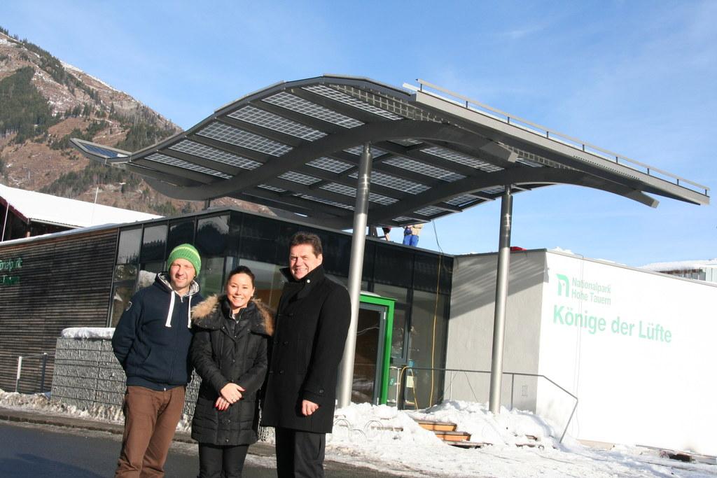 NP-Dir. DI Wolfgang Urban, GF Tourismusverband Rauris Alexandra Fankhauser und B..