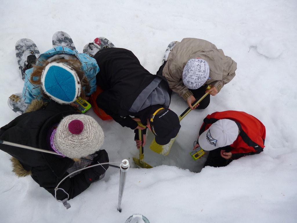Am 9. und 10. Februar findet im Nationalpark Hohe Tauern ein Lawinenkurs für 14-..