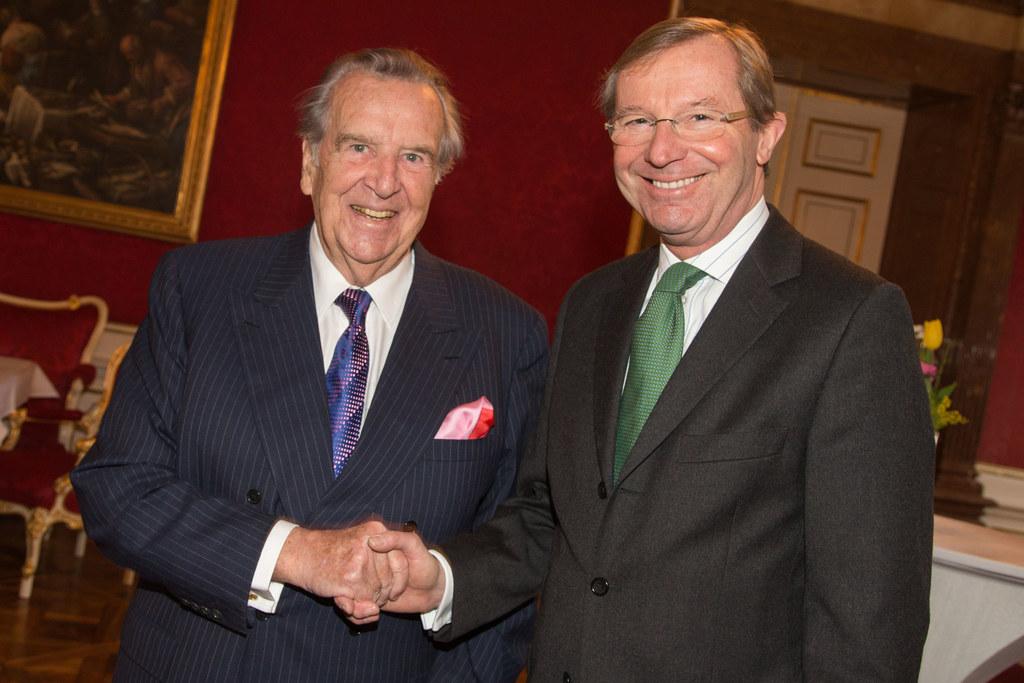 Mit Herbert Batliner verstarb am Wochenende einer der größten Gönner Salzburgs. ..
