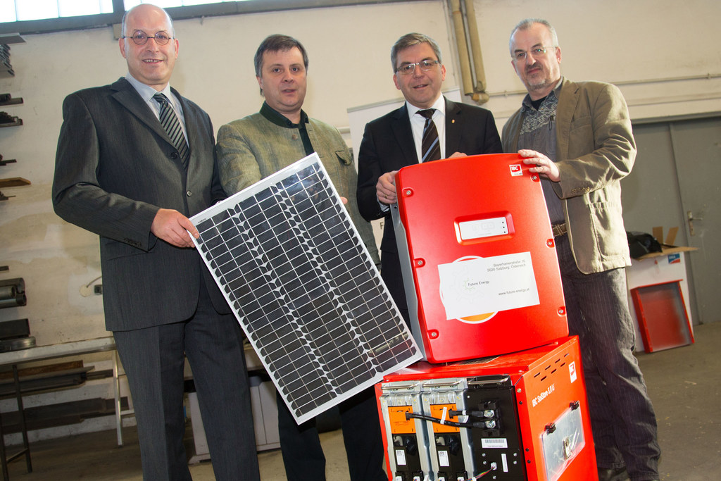 Energieberater Ernst Haigermoser, Norbert Pesendorfer (Future Energy), Landesrat..
