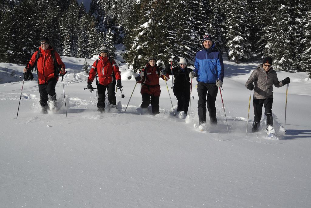 Schneeschuhwandern auf das Kreuzeck