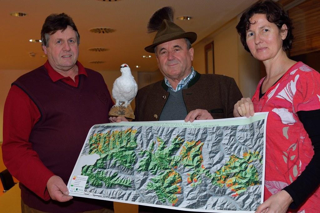 Im Bild v.l.: Georg Altenberger, Georg Meilinger und Kristina Bauch
