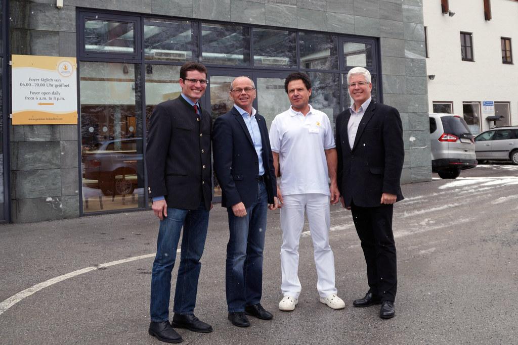 Geschäftsführer DI Christoph Köstinger, Landeshauptmann-Stellvertreter Dr. Chris..