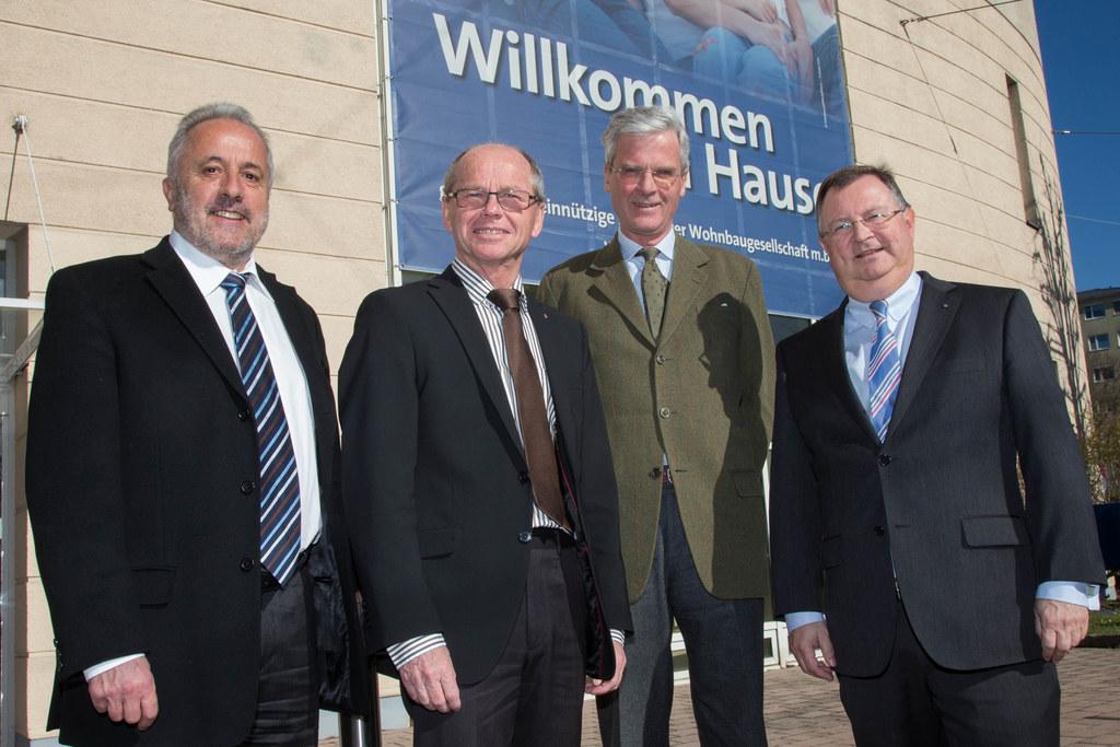 Technischer Geschäftsführer Dr. Bernhard Kopf, Landeshauptmann-Stellvertreter Dr..