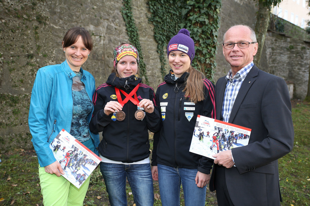 LR Mag. Martina Berthold, Verena Streitberger EM 2x bronze, Ina Forchthammer und..