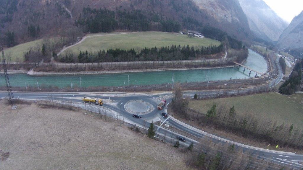 Kreisverkehr Stegenwald