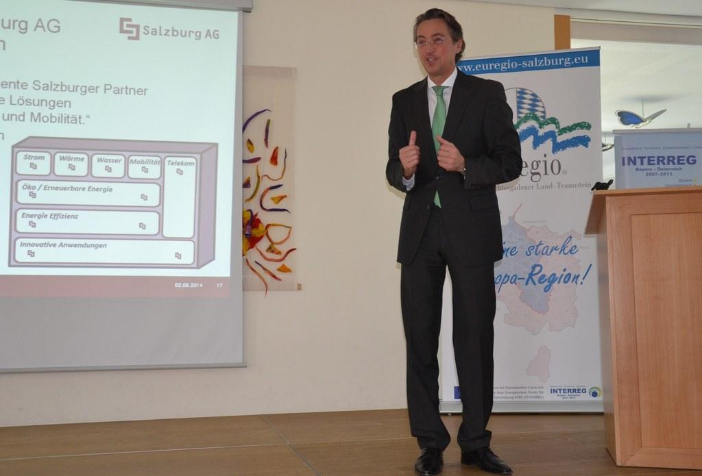 Salzburg AG-Vorstand Dr. Leonhard Schitter