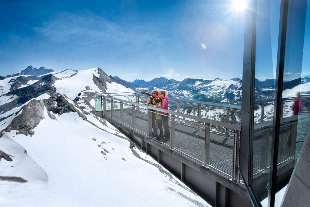 Nationalpark Gallery auf dem Gipfel des Kitzsteinhorns