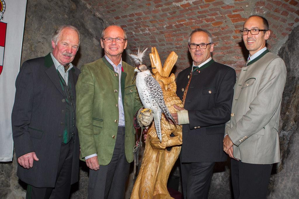 Landeshauptmann-Stellvertreter Dr. Christian Stöckl, Peter Meikl und Maximilian ..