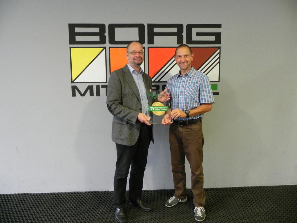 Direktor Peter Seiwald und NP-Dir. Wolfgang Urban
