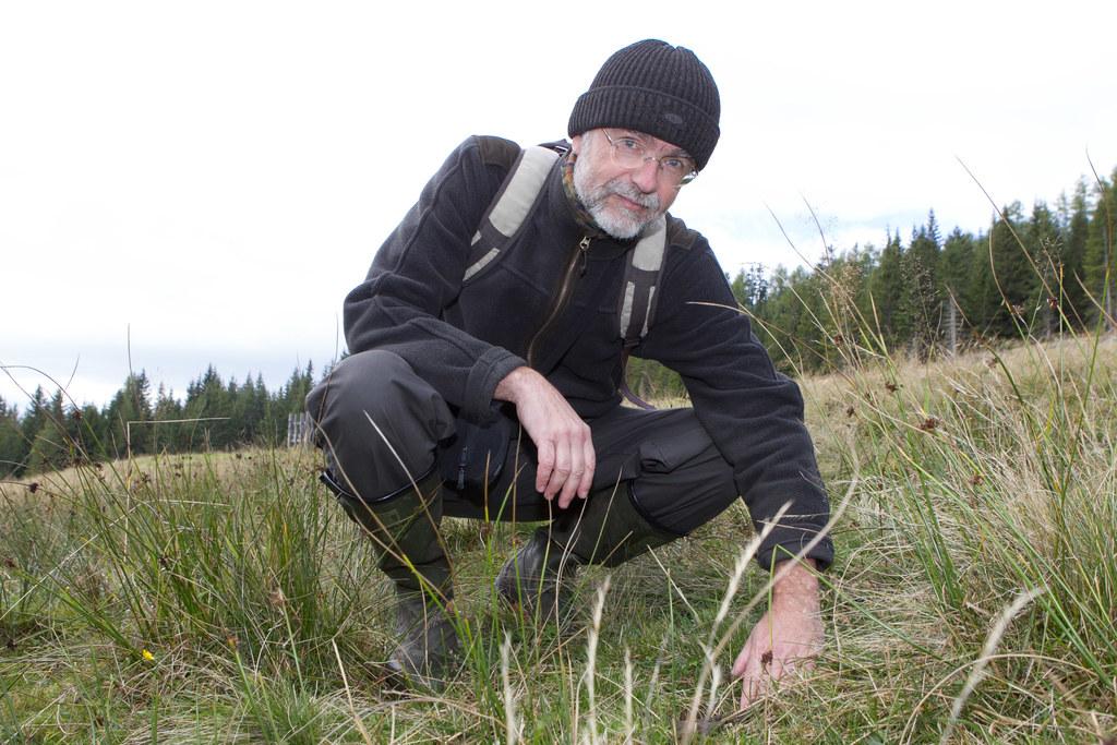 Bärenanwalt Dr. Georg Rauer im Lungau