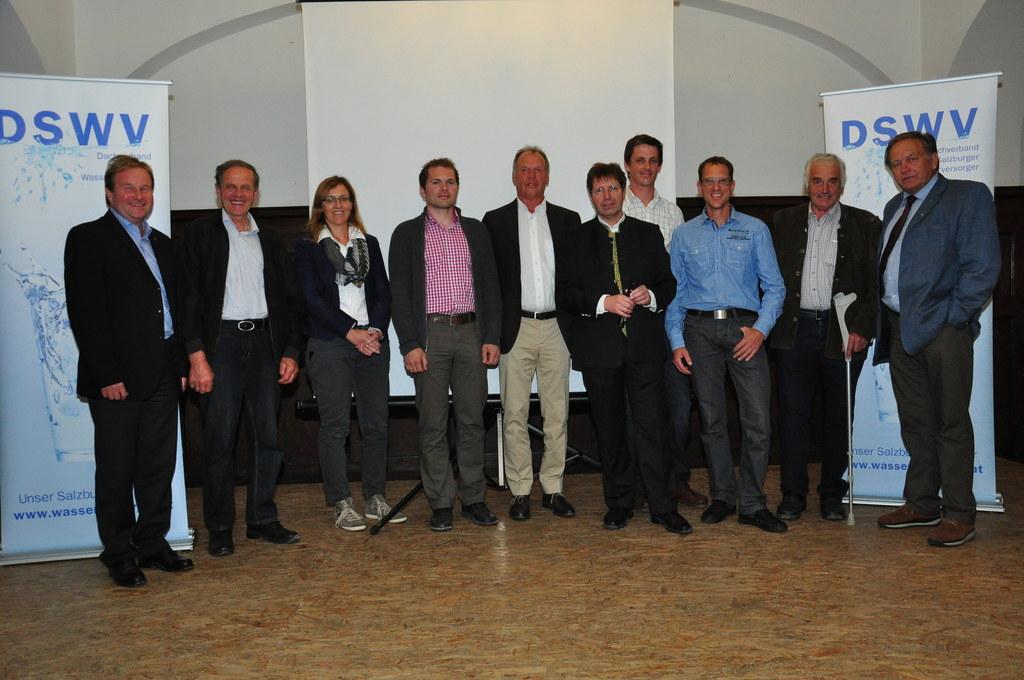 Ing. Peter Müllner, WV Gasteinertal; Leonhard Doppler, WG Mörtelsdorf-Tamsweg; D..
