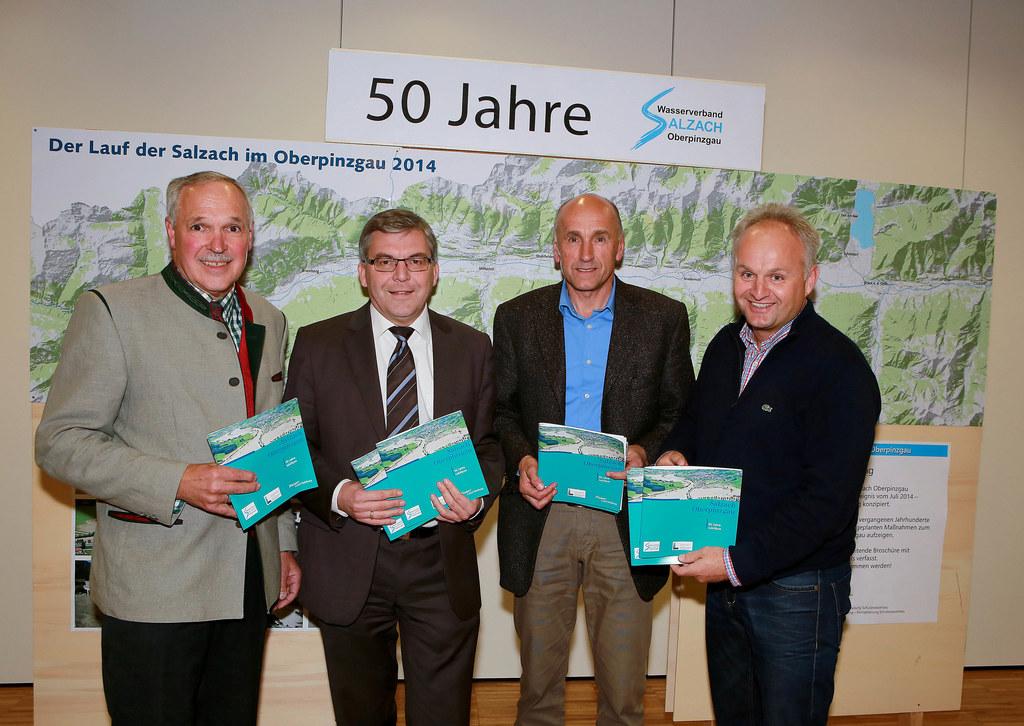 Balthasar Rainer (Verbandsobmann Wasserverband Oberpinzgau), Landesrat DI Dr. Jo..