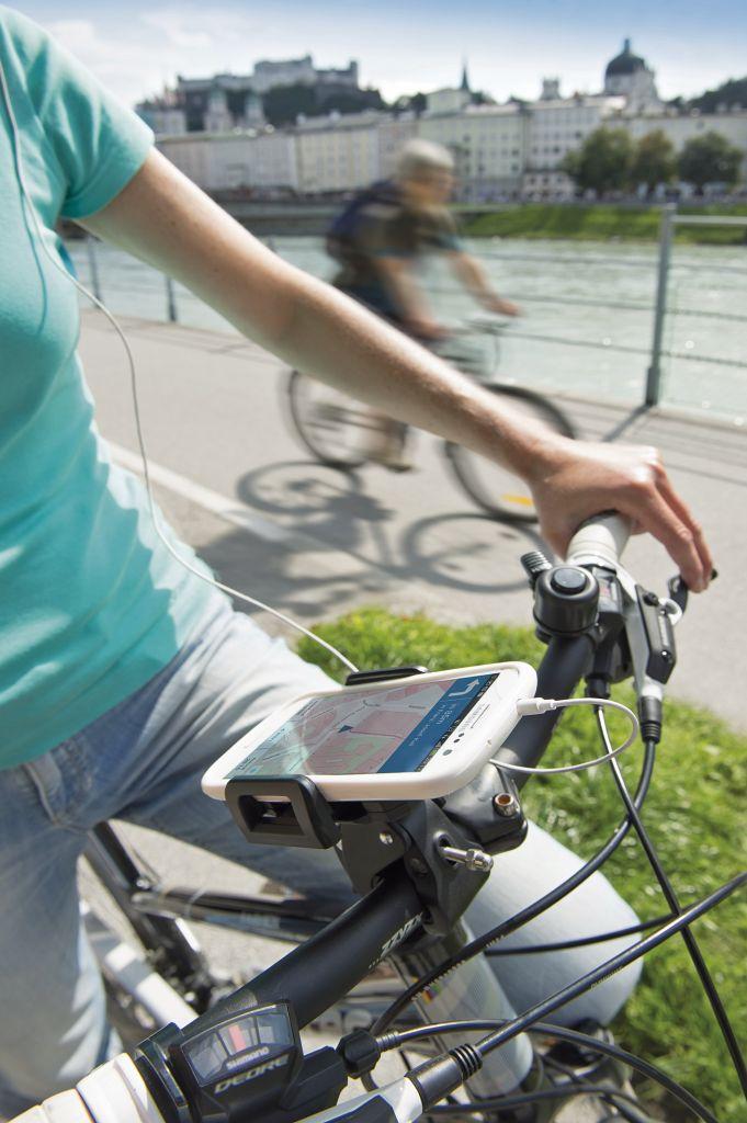 Die Ralkarte.info zeigt empfohlene und kürzeste Rad-Route auf individuellen Stre..