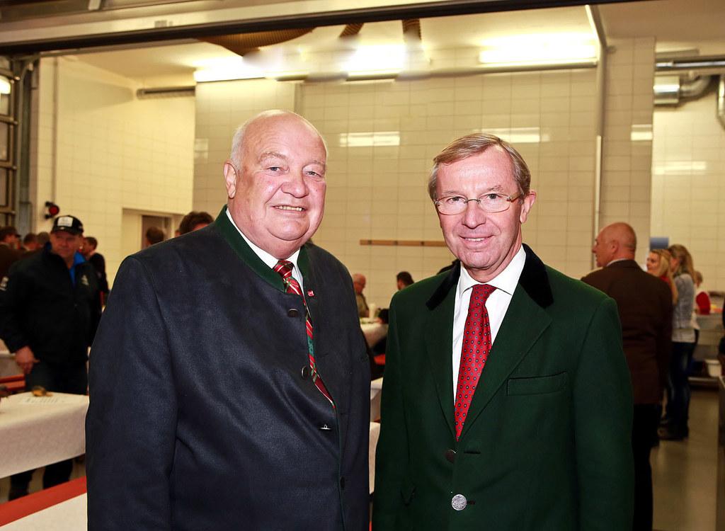 Bgm. a.D. Leonhard Madreiter und LH Dr. Wilfried Haslauer