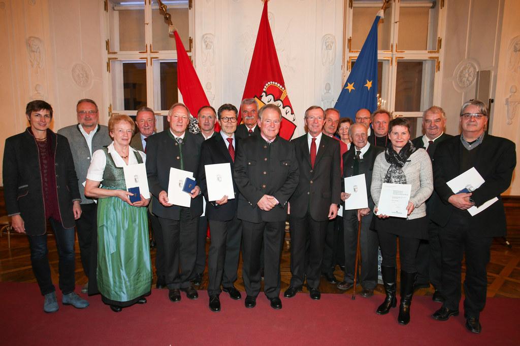 Verleihung des Salzburger Tourismus Verdienstzeichen