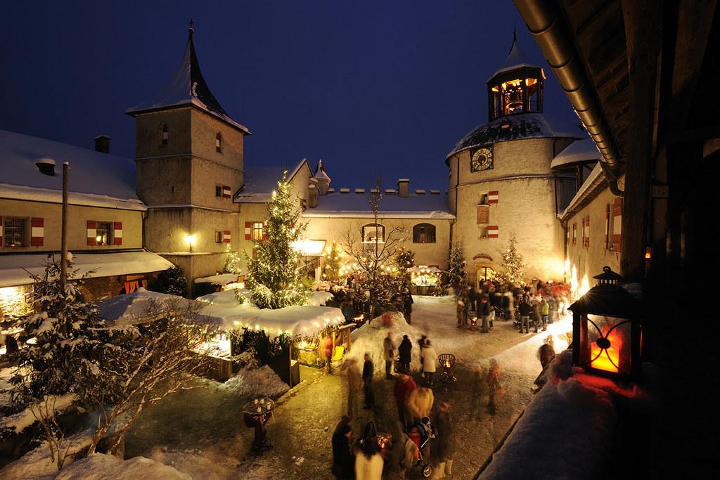 Wunderbare Weihnachtsmärkte auf Salzburgs Burgen und Schlössern