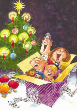 Weihnachtslieder-Fundgrube