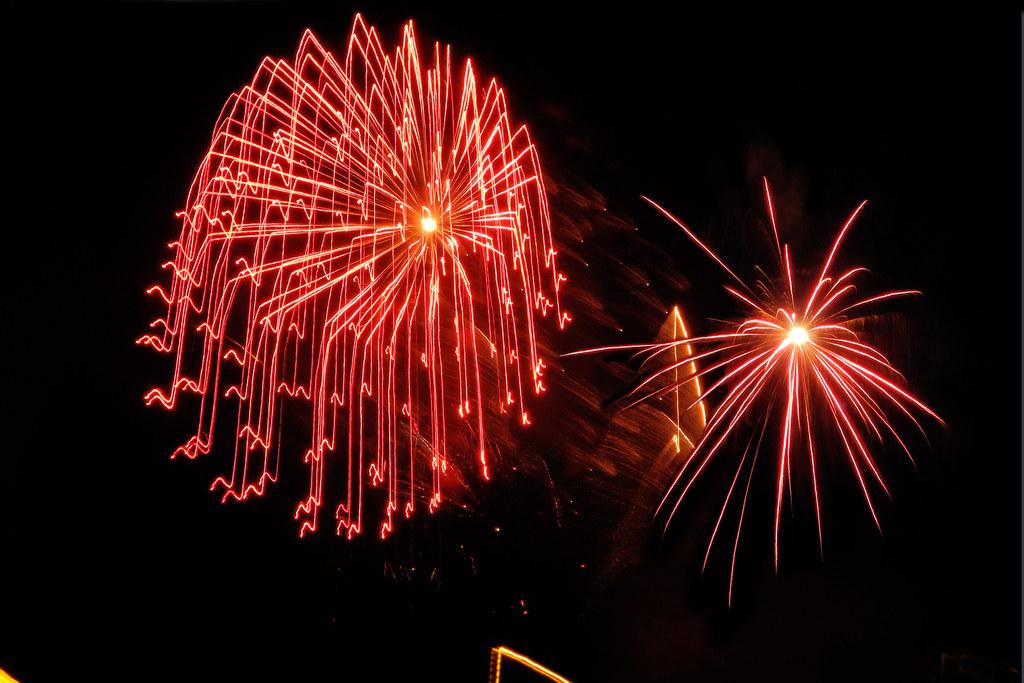 Bunte Feuerwerke belasten nicht nur den Geldbeutel, sondern vor allem die Umwelt..