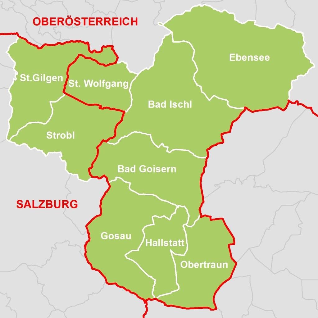 Sieben oberösterreichische und zwei Salzburger Gemeinden haben sich erstmals zu ..