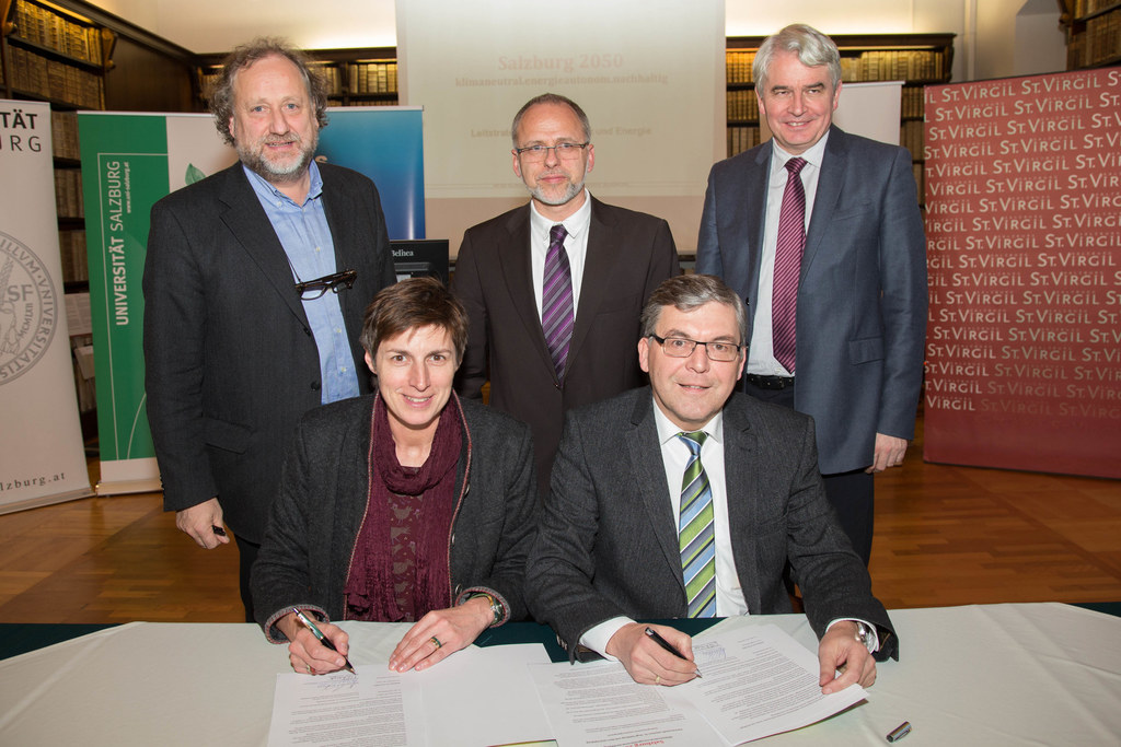 Im Bild v.l.: Dr. Norbert Winding, Landeshauptmann-Stellvertreterin Dr. Astrid R..