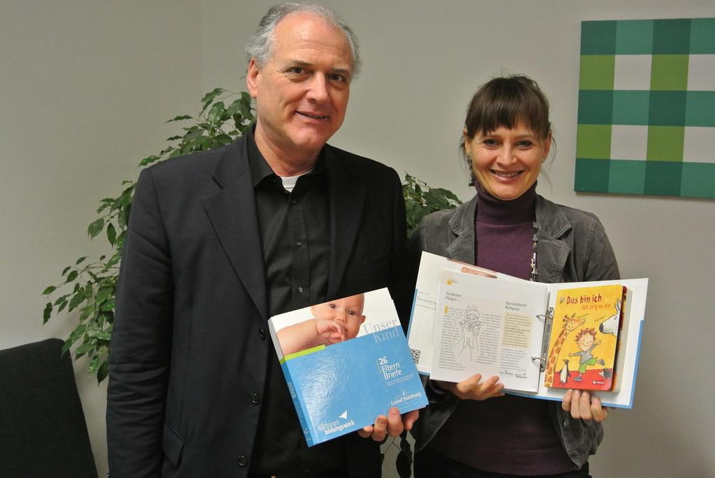 Robert Luckmann  und Landesrätin Mag. Martina Berthold