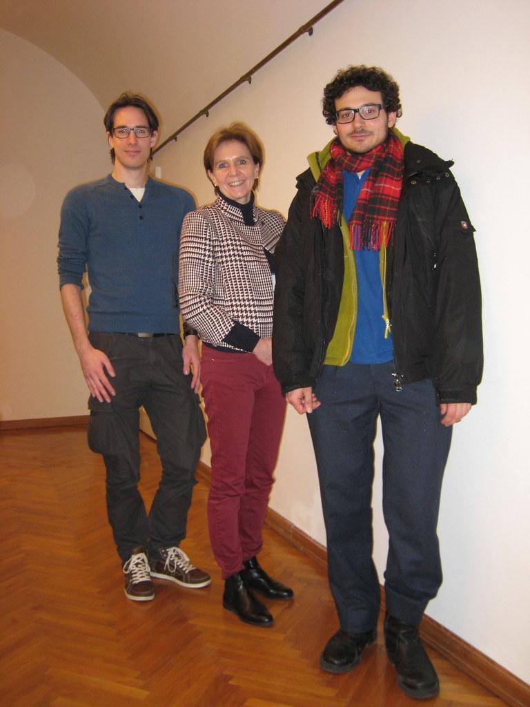 Im Bild v.l.: Mag. Kay-Michael Dankl, Landtagspräsidentin Dr. Brigitta Pallauf u..