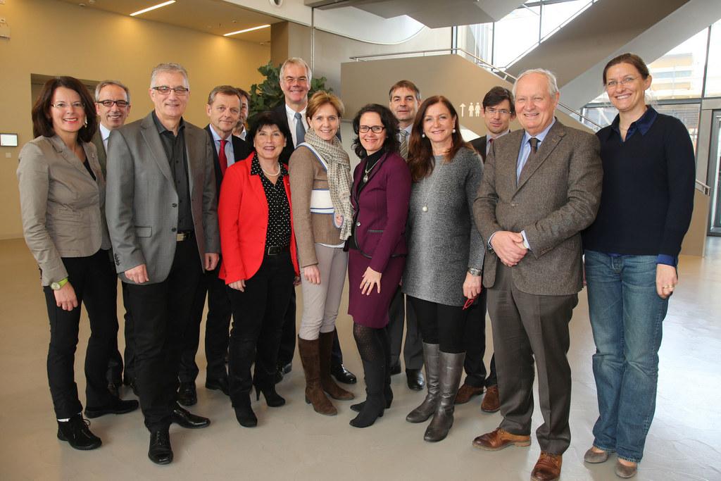 Landtagsdelegation zu Besuch in der PMU