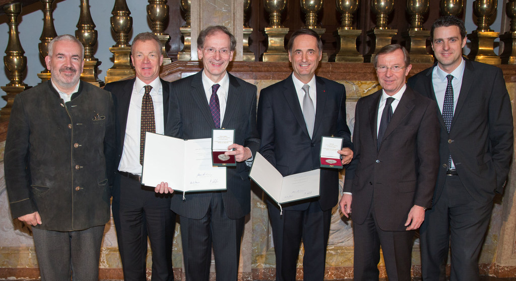 Marc Minkowski, Johannes Honsig Erlenburg, Clemens Hellsberg, Dieter Flury, Land..
