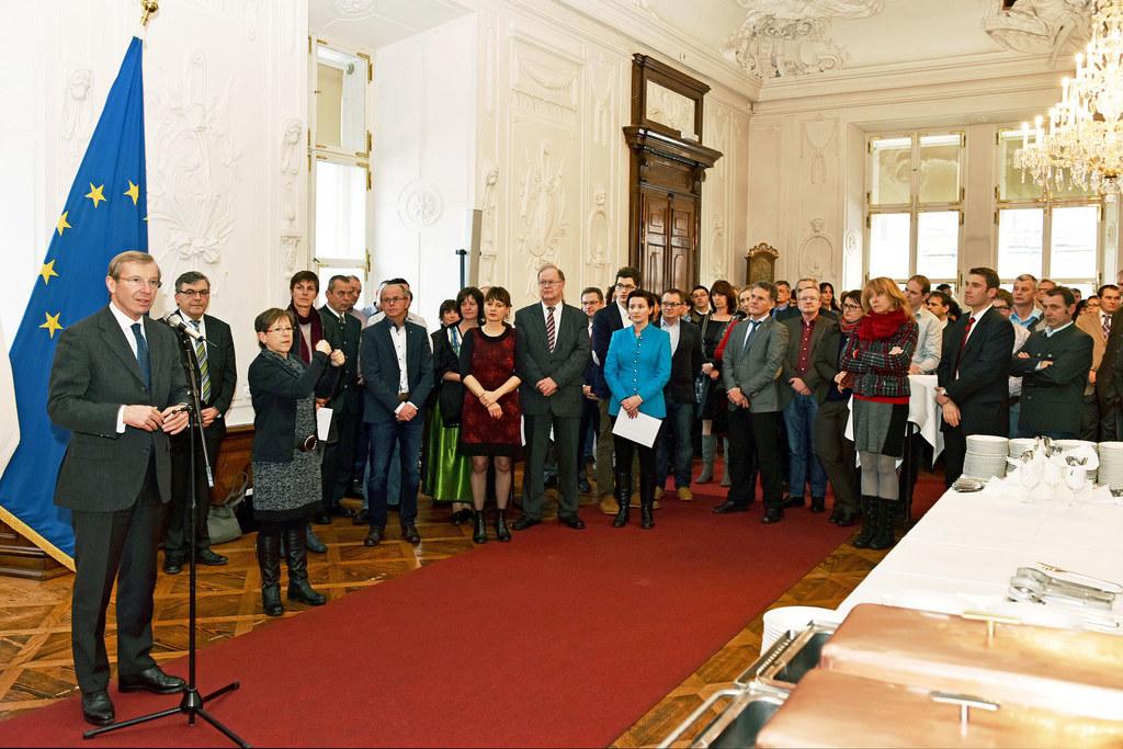 Mitarbeiterempfang des Landes in der Salzburger Residenz