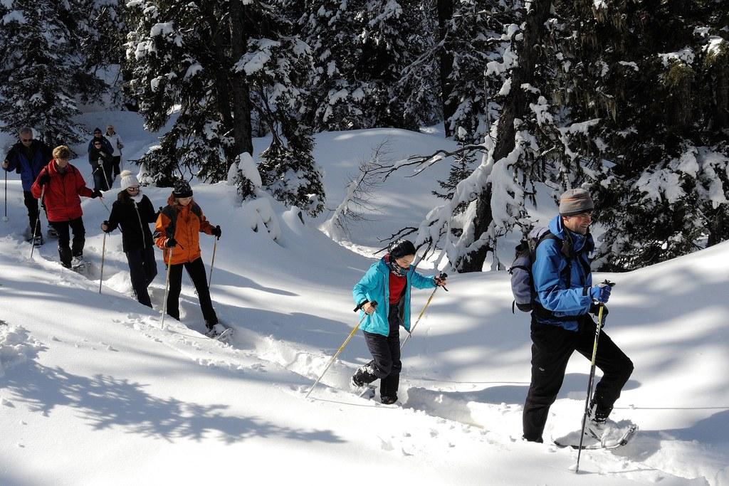 Schneeschuhwanderungen in Rauris