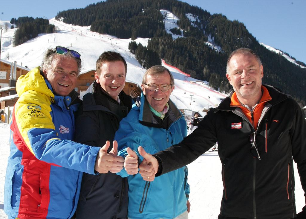 Saalbach-Hinterglemm ist top auf den Riesentorlauf vorbereitet, im Bild LH Wilfr..