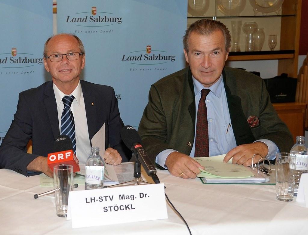 LH Stv. Dr. Christian Stöckl und Dr. Paul Sungler