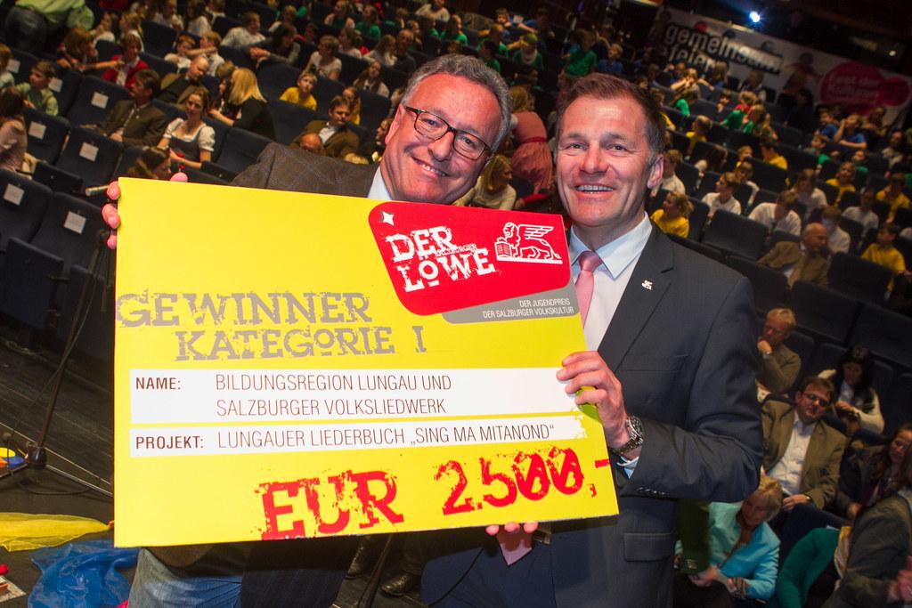 Landesrat Dr. Heinrich Schellhorn und MBA Reinhard Pohn ( Regionalleiter General..